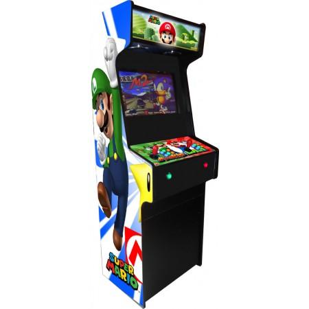 VINILO (Mario y Luigi) MUEBLE KIT VIDEOVAL SLIM