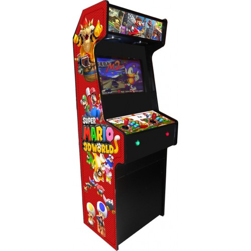 VINILO (Super Mario 3D) MUEBLE KIT VIDEOVAL SLIM
