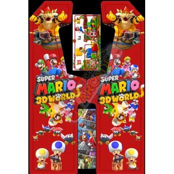 VINILO (Super Mario 3D) MUEBLE KIT VIDEOVAL SLIM