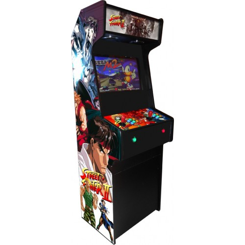 VINILO (Street fighter II) MUEBLE KIT VIDEOVAL SLIM
