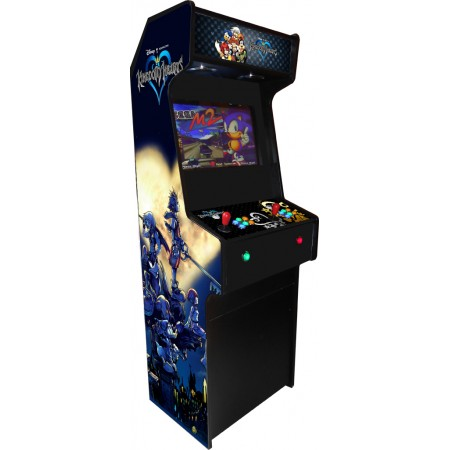 VINILO MUEBLE KIT VIDEOVAL SLIM (Kingdom Hearts)