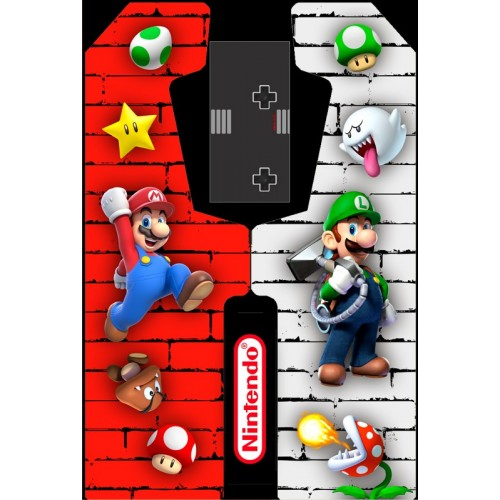 VINILO (Nintendo) MUEBLE KIT VIDEOVAL SLIM